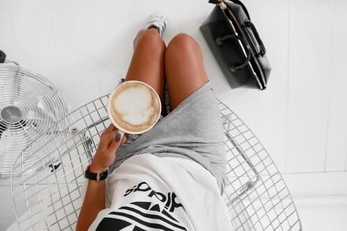 cafe desde arriba