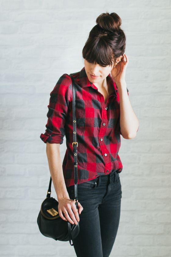 camisa jeans negros