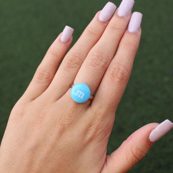 caramelo anillo