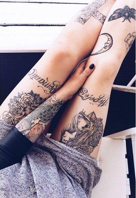 chicas tatuajes