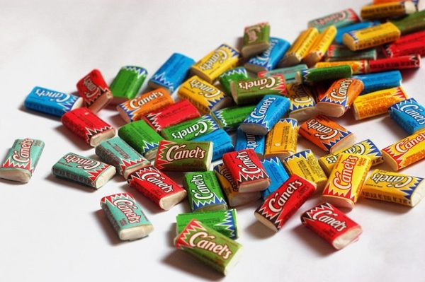 chicles infancia