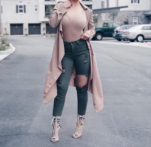 cintura outfit rosa