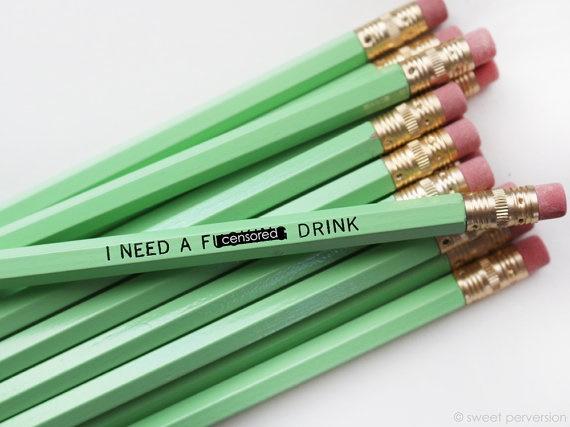 drink pencil