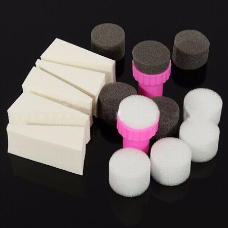 esponjas para uñas