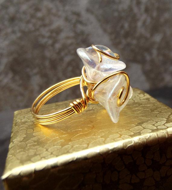 flor cristal