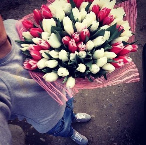 flores selfie