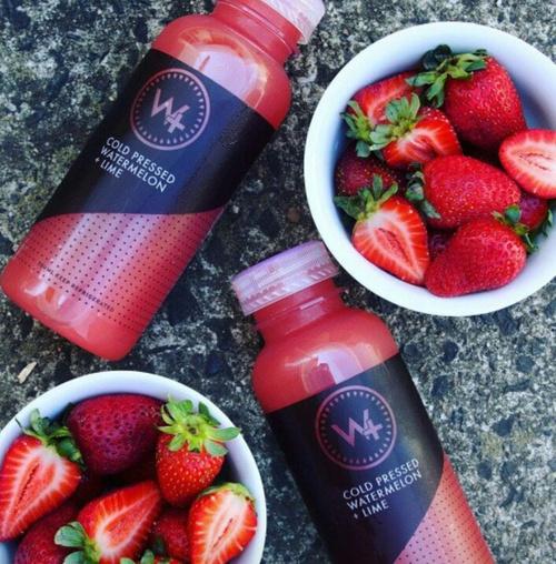 fresas jugo