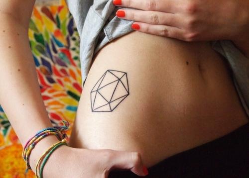 geometrico tatuaje