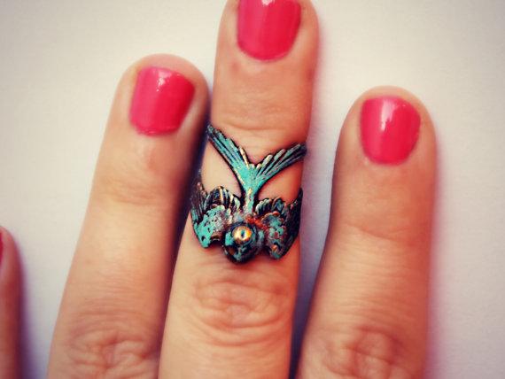golondrina anillo