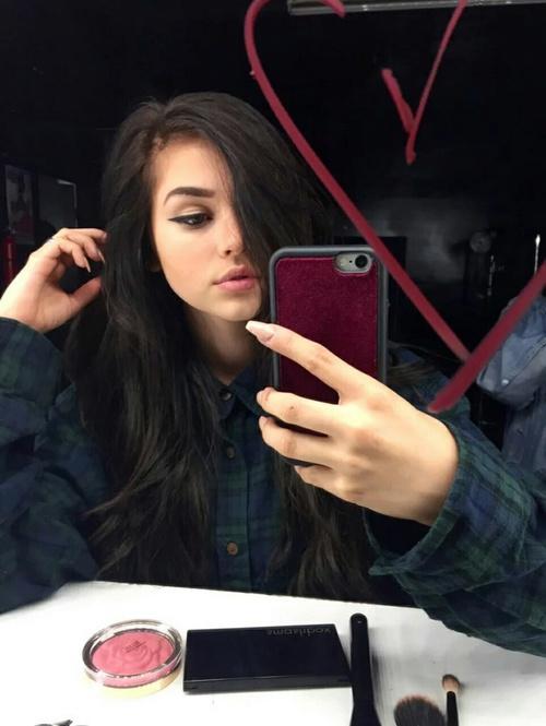 hair -selfie