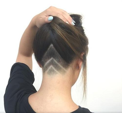 haircut under