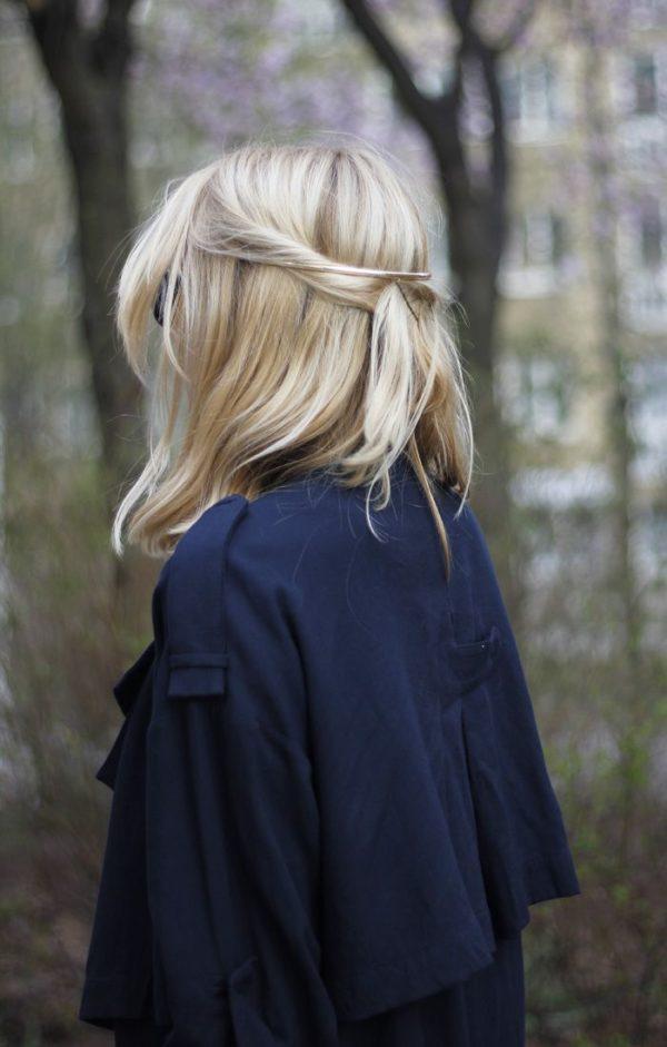 hombro cabello