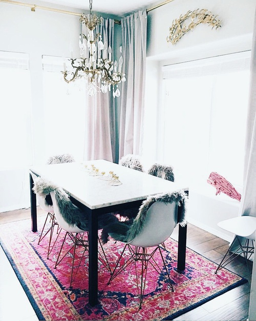 mesa marmoleada