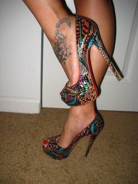 mosaico zapatos