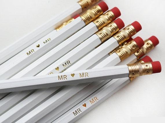 novios pencils