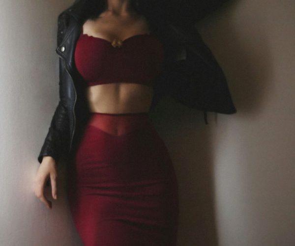 outfit cintura pequena