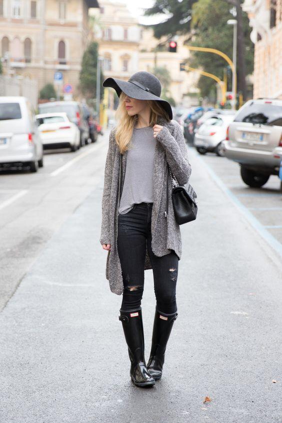 outfit dias lluviosos