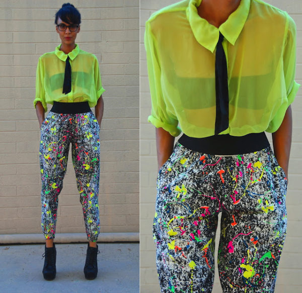 pantalones noventeros