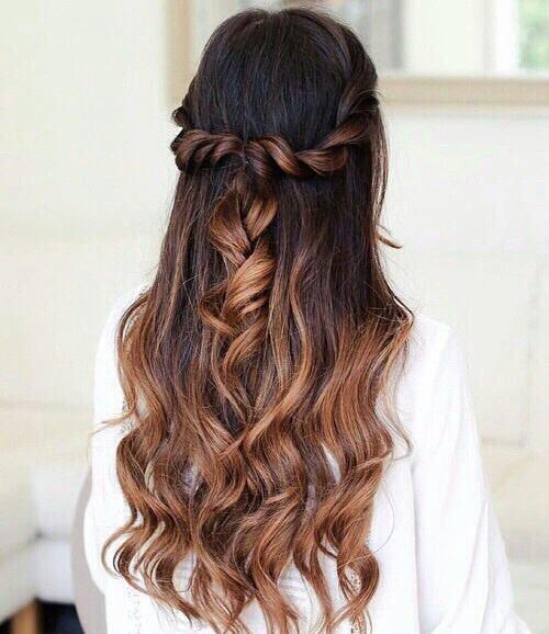 peinado de princesa