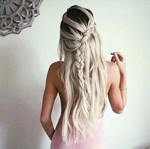 peinado trenzas mujer