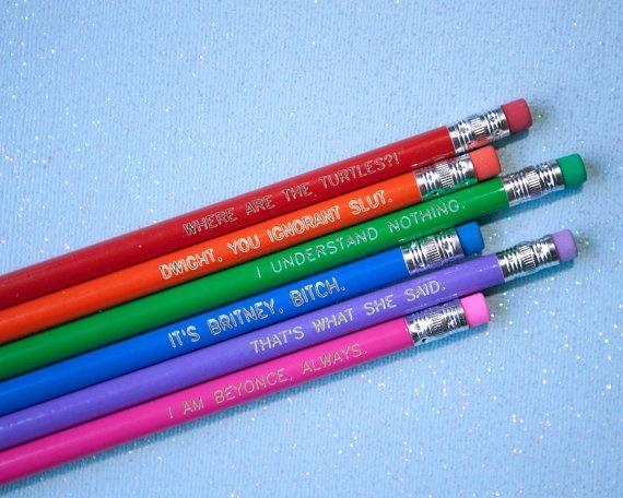 pencils funny
