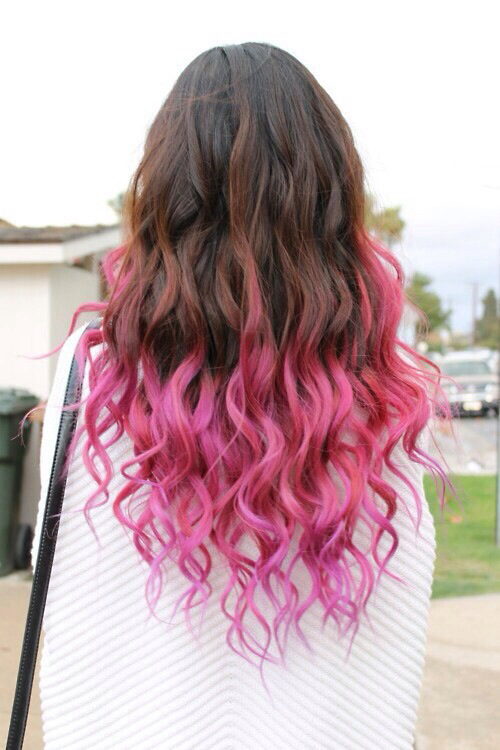 Color de cabello rubio en las puntas