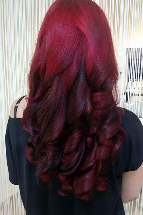 rojo hermoso color