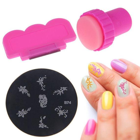 sello de uñas