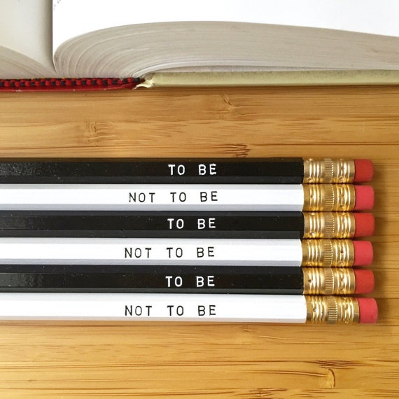 to be pencils