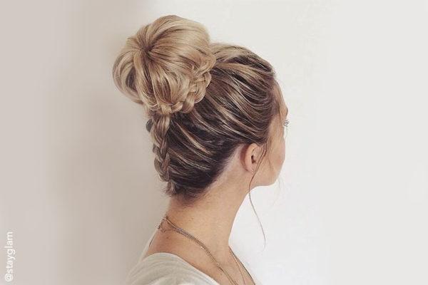updo peinados