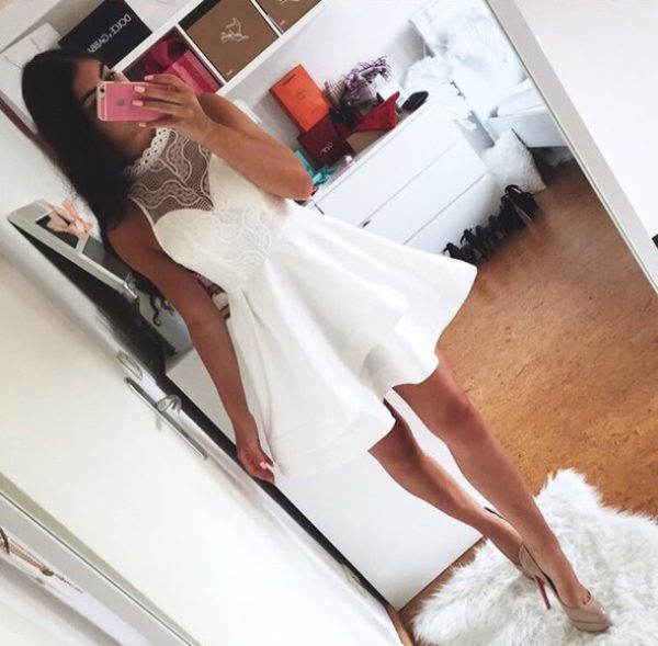 vestido blanco boda civil strapless