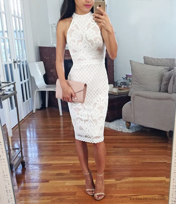 vestido blanco bonito
