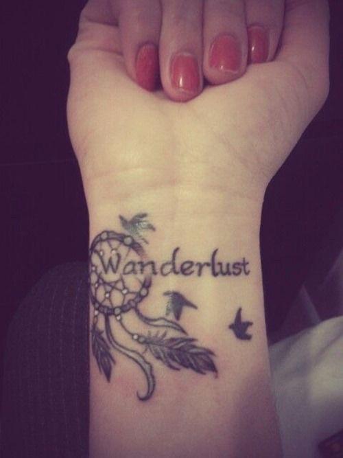 wanderlust tatuajes
