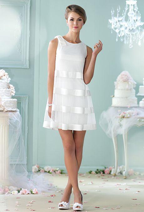 wedding little white dress