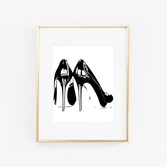 zapatos cuadro