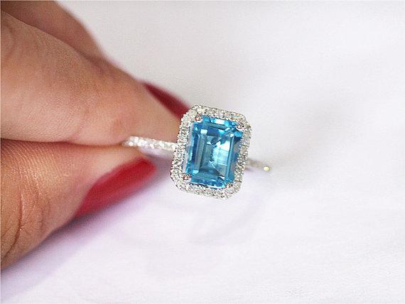 anillo azules