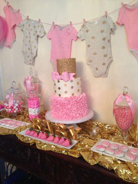 Ideas Adornos Baby Shower.15 Ideas Cute Para Un Baby Shower Inolvidable