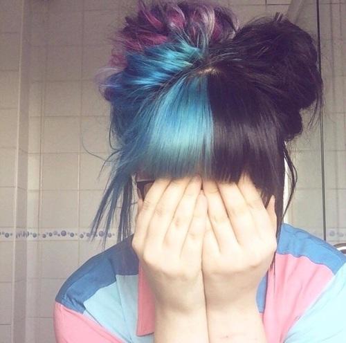 bicolorhair