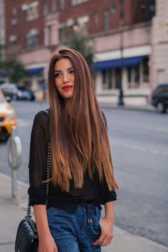 Cortes en pelo largo liso