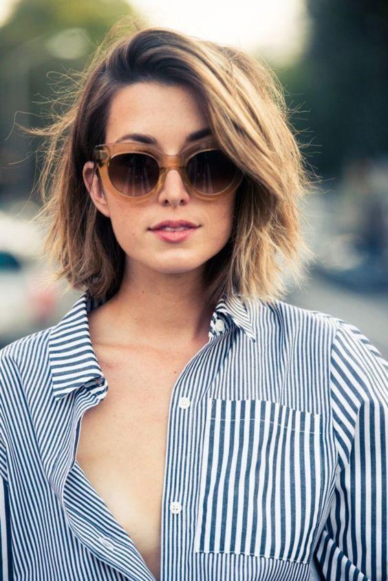 Cortes de cabello para bajitas 2017