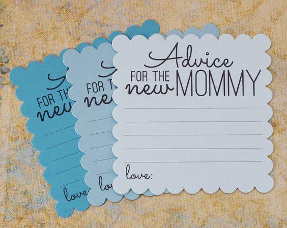 consejo para la nueva mama