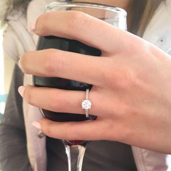 copa de vino anillo