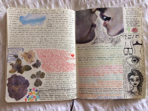 Book Cover Ideas We Heart It ~ Chicas a las que vas querer robar sus diarios