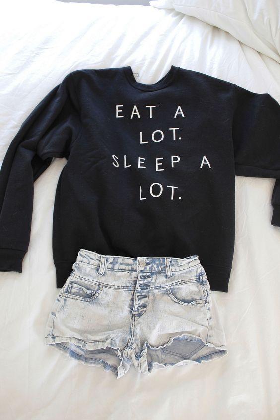eat a lot