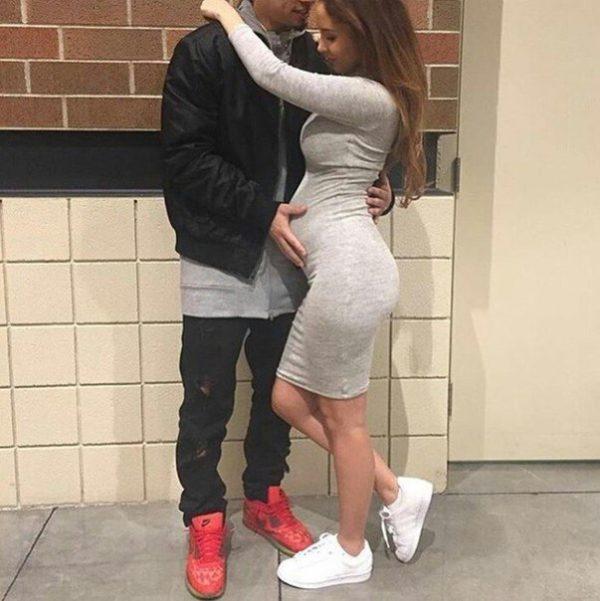 embarazada mujer
