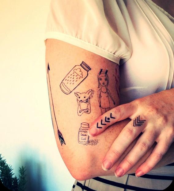 flechas tattoo