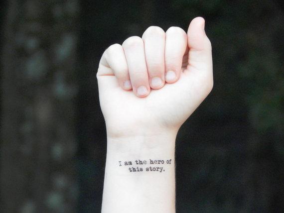 frase tatuaje