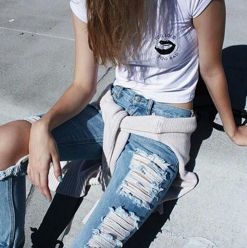 grunge blanco