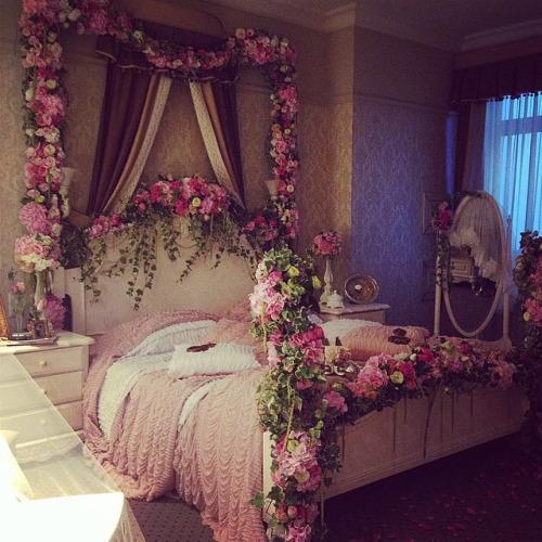 habitacion romantica pareja