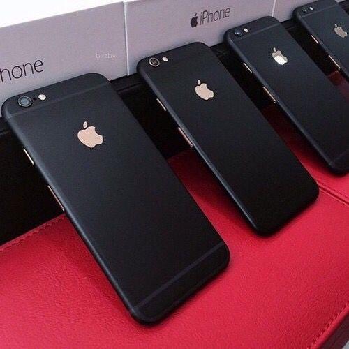 iphone black